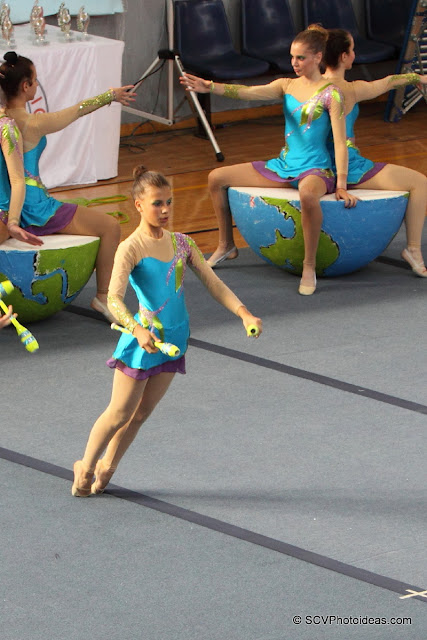 Rhythmic Gymnastics floor program clubs