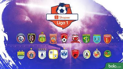 Jadwal Liga 1 Terlengkap 2019 Pekan 21 Jumat-Minggu 27-29 September