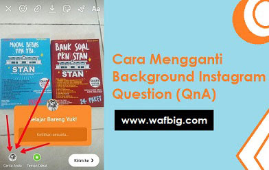 Cara Mengganti Background Instagram Question Di Android