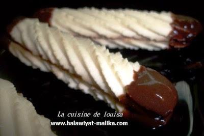 حلوة اللمبوط بالشوكولا