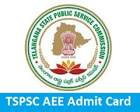 TSPSC AEE Admit Card