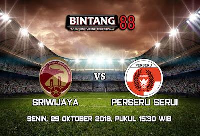 Prediksi Sriwijaya FC VS Perseru Serui 29 Oktober 2018