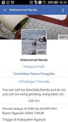 mengapa foto profil facebook tidak muncul