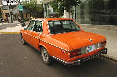 old parked cars 1973 bmw bavaria sedan. Black Bedroom Furniture Sets. Home Design Ideas