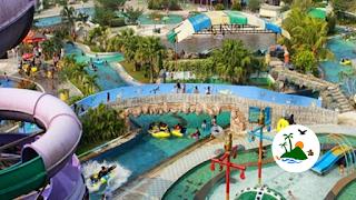 Wisata air Riau Fantasi Labersa Water Park dan Labersa Theme Park