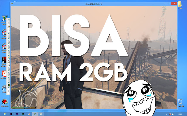 Main GTA 5 di Komputer RAM 2GB saja, Bisa Gak?