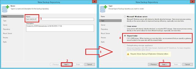 Shared Folder  CIFS (SMB) Share.