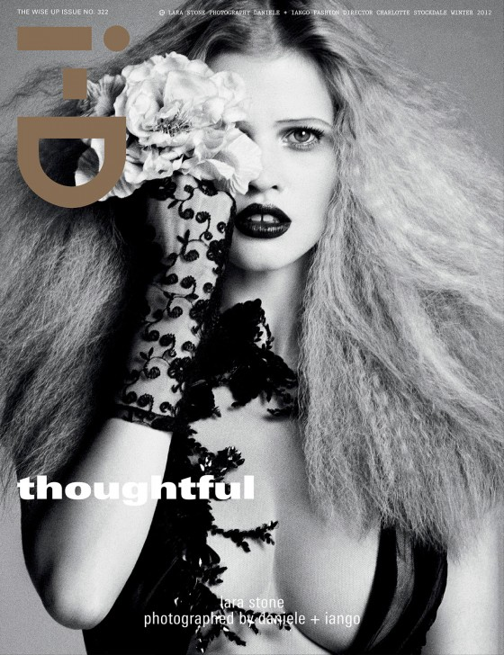 Lara Stone i-D Magazine 2012 photoshoot