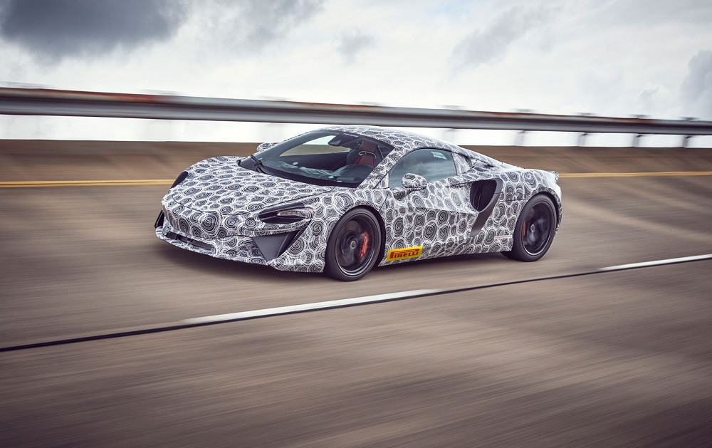 McLaren's all-new hybrid supercar enters final stages of testing