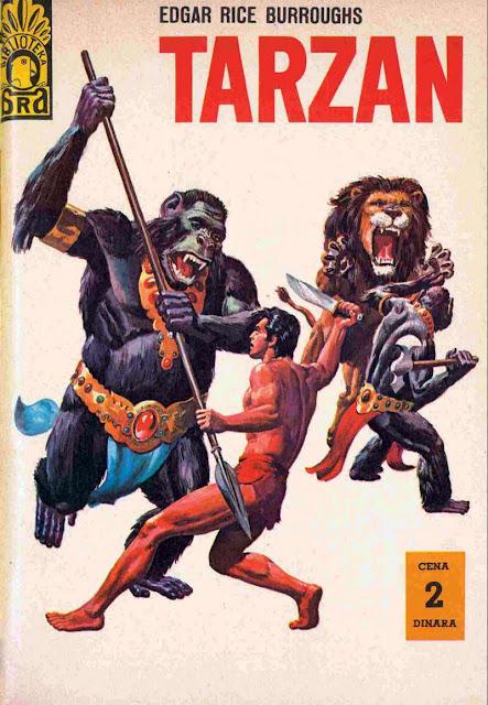 Tarzan i zlatni Lav - Tarzan