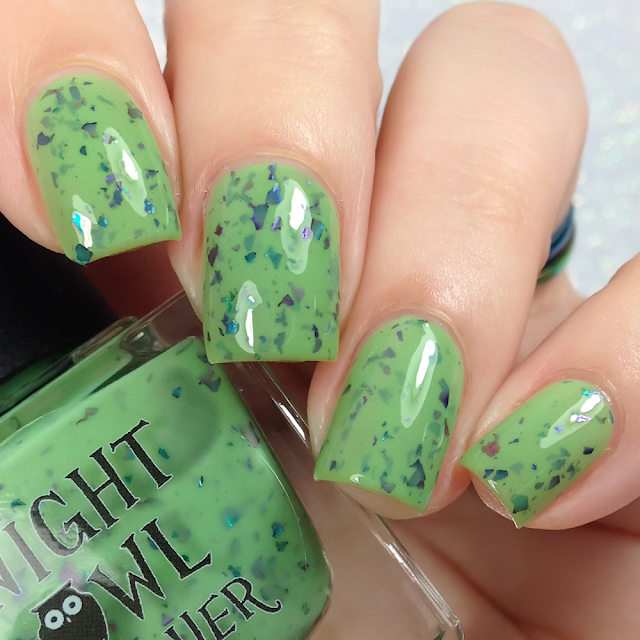Night Owl Lacquer-A Grave Misunderstanding