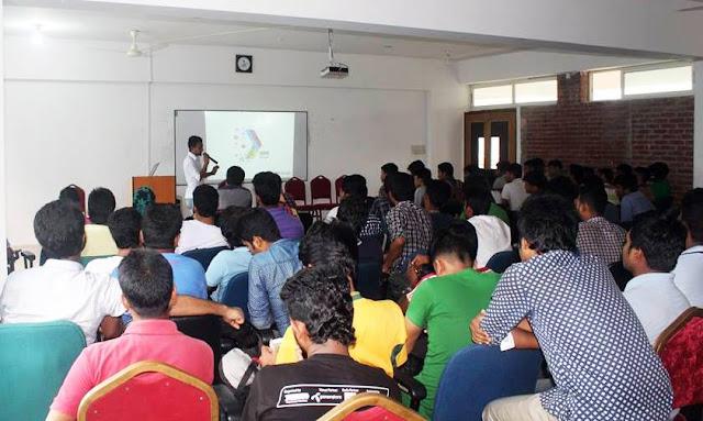 Google Developers Group-GDG Bangla arranged program in Daffodil Permanent Campus
