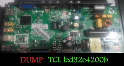 DUMP TCL  led32e4200b