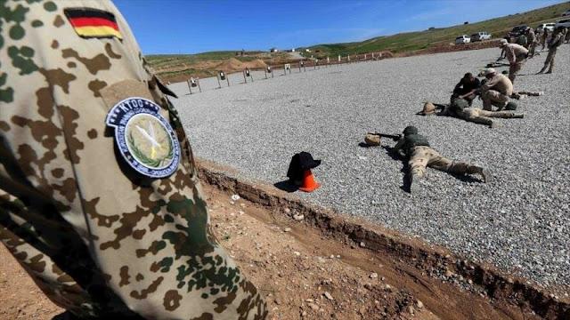 Alemania suspende sus operaciones de entrenamiento militar en Irak