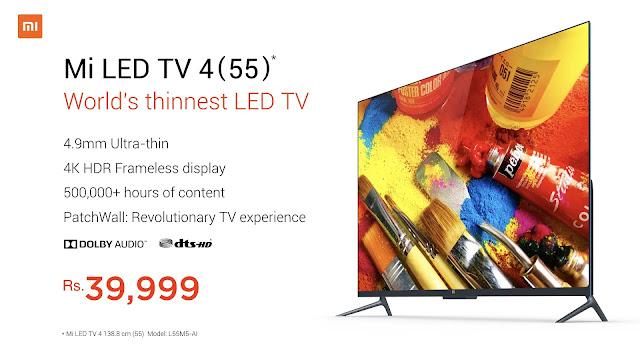 """Mi TV 55"""""""