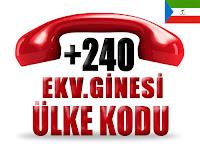 +240 Ekvator Ginesi ülke telefon kodu