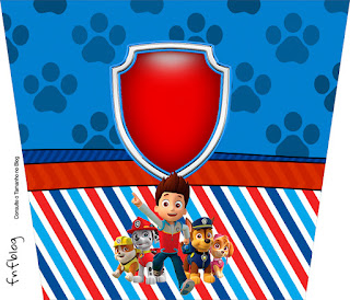 Free Printable Paw Patrol Labels