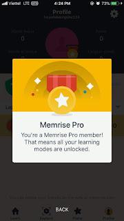 """Hướng dẫn """"HACK"""" Pro Membership Memrise miễn phí trên iOS"""