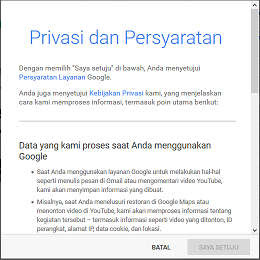 Privasi Gmail