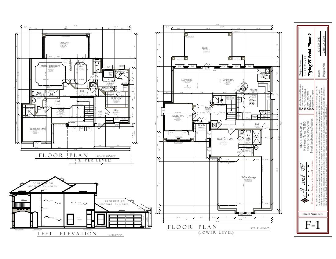 2 Storey Residential Electrical Plan