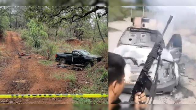 15 asesinados en fin de semana violeto en Michoacán; choque entre CJNG contra Cárteles Unidos dejo 8