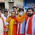 भाजयुमो के नवनियुक्त प्रदेश उपाध्यक्ष रणजीत राय के प्रथम  आगमन पर भव्य स्वागत