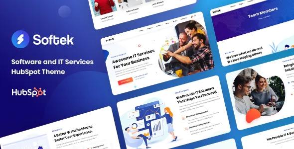 Best Software & IT Solutions HubSpot Theme