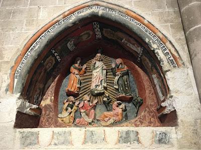 Catedral Zamora nicho medieval