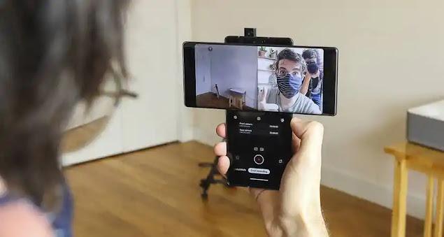 كاميرا هاتف LG Wing 5G