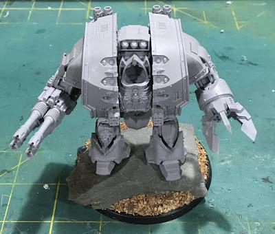 Dark Angels Legion Leviathan Siege Dreadnought WIP