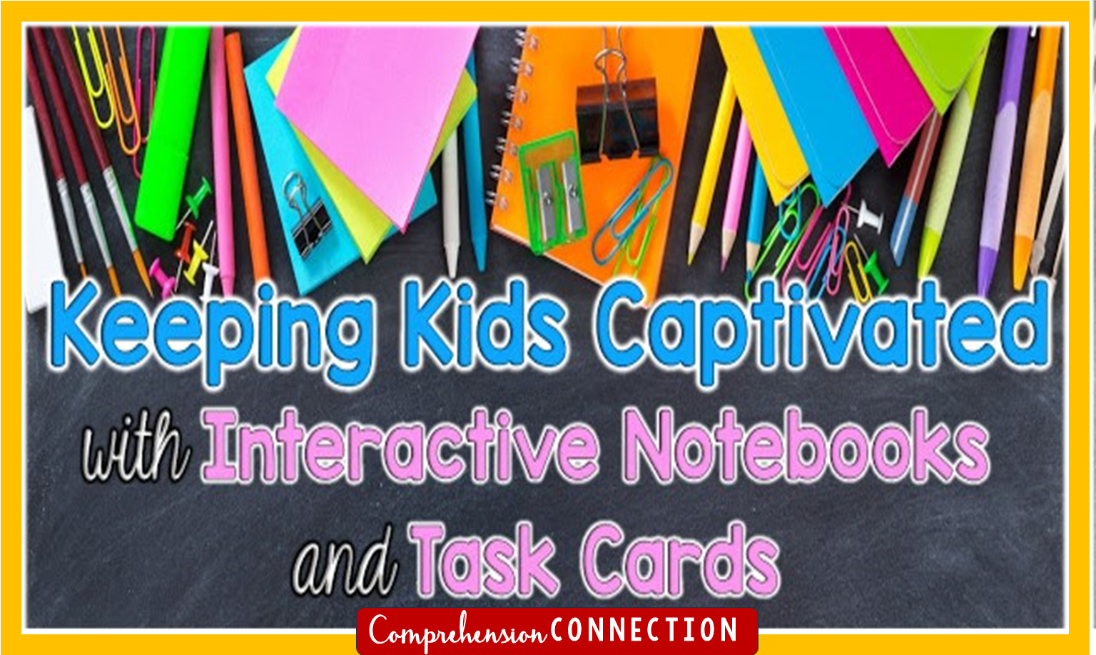 If you love interactive notebooks and task cards for keeping your kids engaged, then you'll love these tips from a few bloggy friends. Freebies included