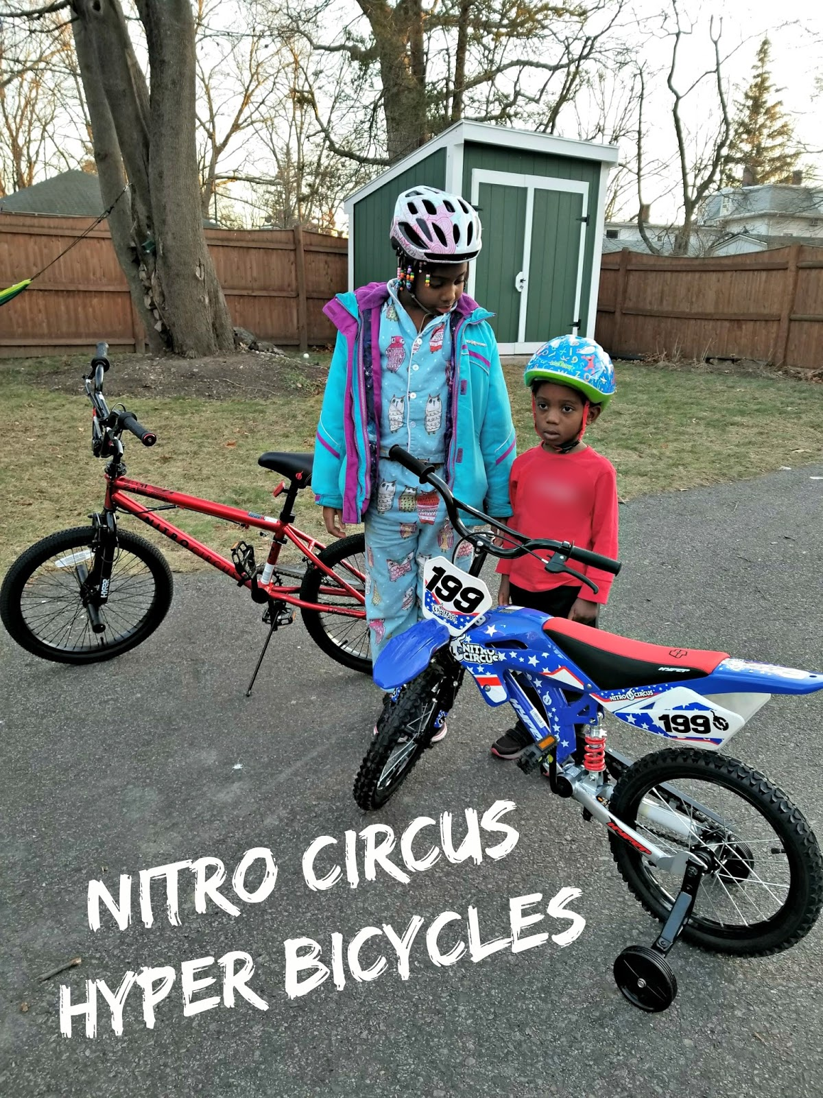 Harlem Lovebirds Gift It Nitro Circus Signature Hyper Bicycles