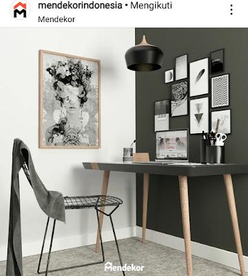 akun instagram mendekor indonesia berisi tentang home decor