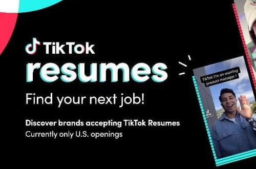 With Tik Tok you can apply for a job