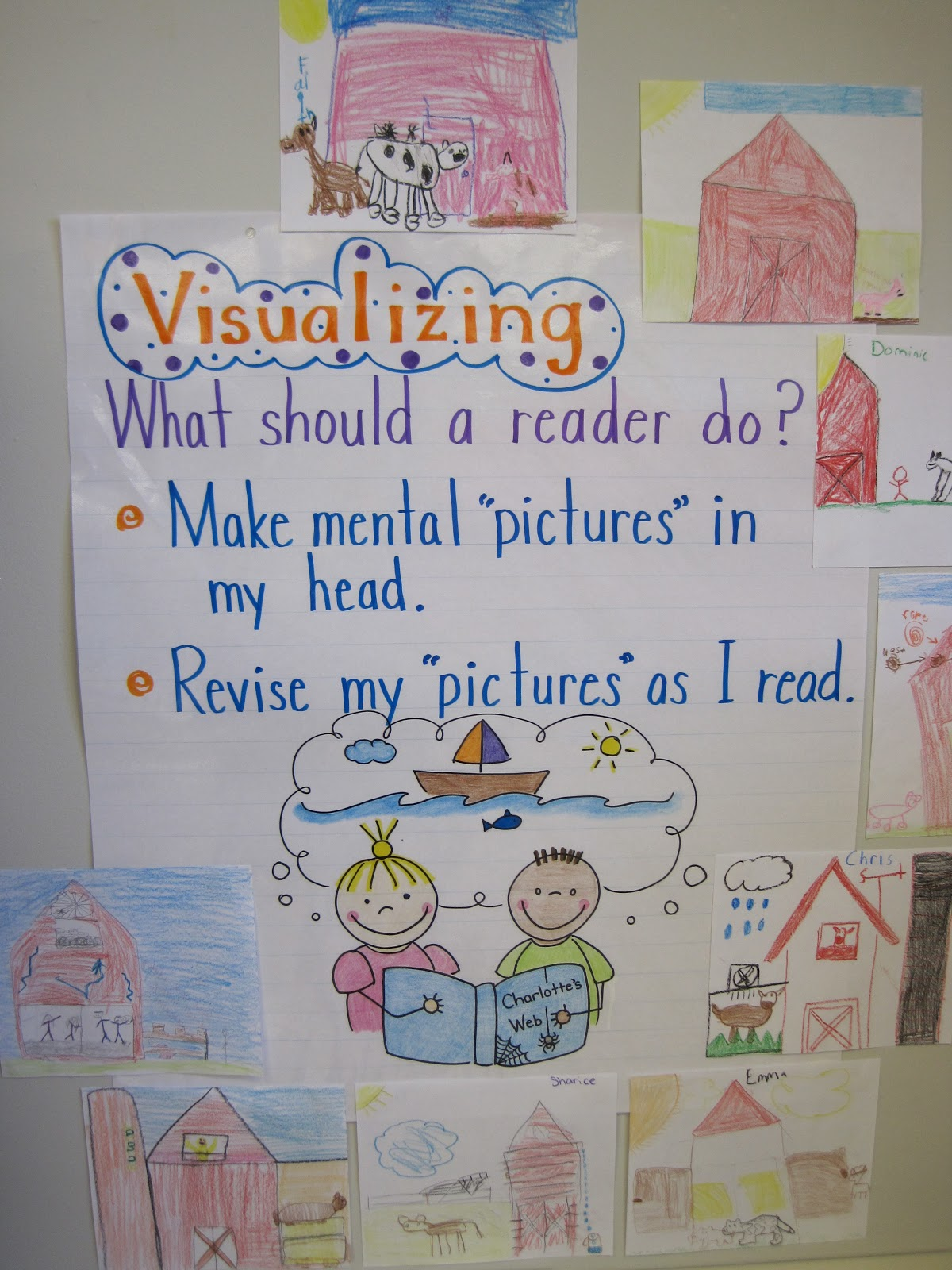 Read with me abc anchor charts and beanies - One of your students left their book on the table ...