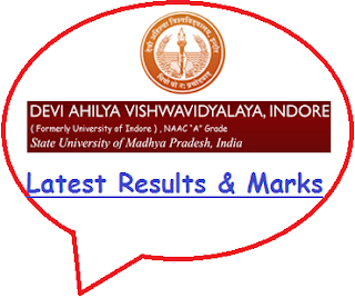 DAVV Results May June 2020