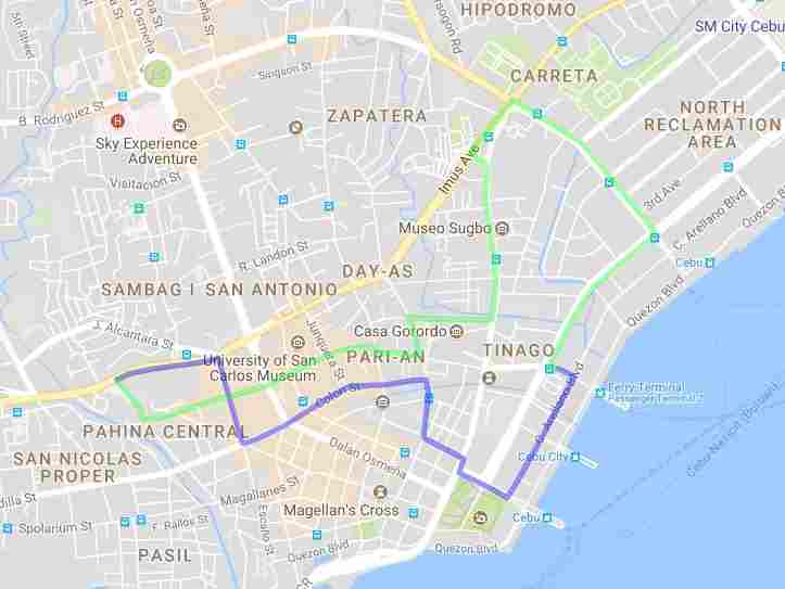 Ride a Jeepney in Cebu and its Travel Routes Code 02b Destination South Bus Terminal Map Best of Philippines 2018