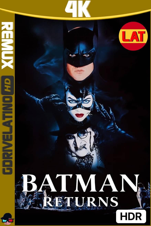 Batman Regresa (1992) BDRemux 4K HDR Latino-Ingles MKV