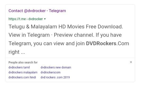 Dvdrockers 2019
