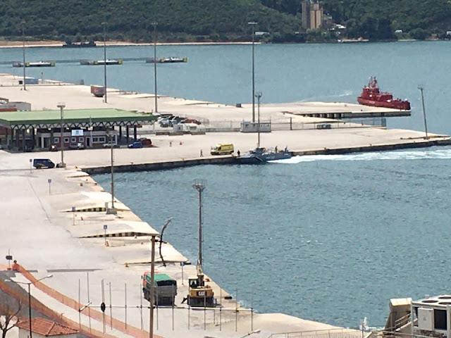 Ήγουμενίτσα: Διακομιδή με σκάφος του λιμενικού 67χρονου από την Κέρκυρα στην Ηγουμενίτσα