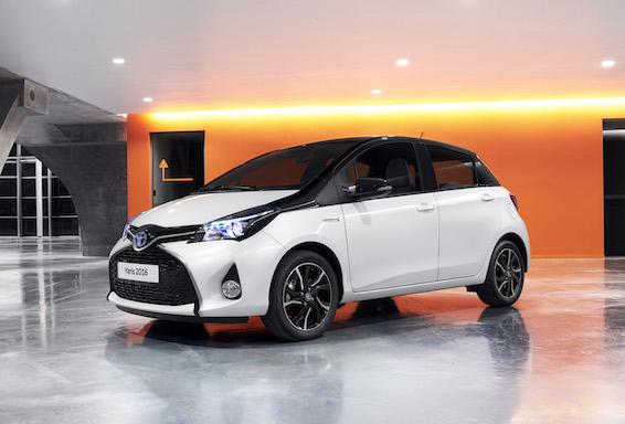 Toyota Yaris Bitono, set de aros únicos