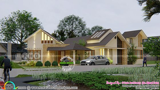 Modern contemporary style home view 3