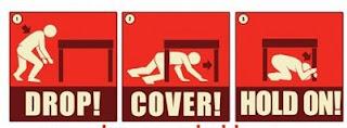 إرشادات السلامة عند وقوع الزلازل