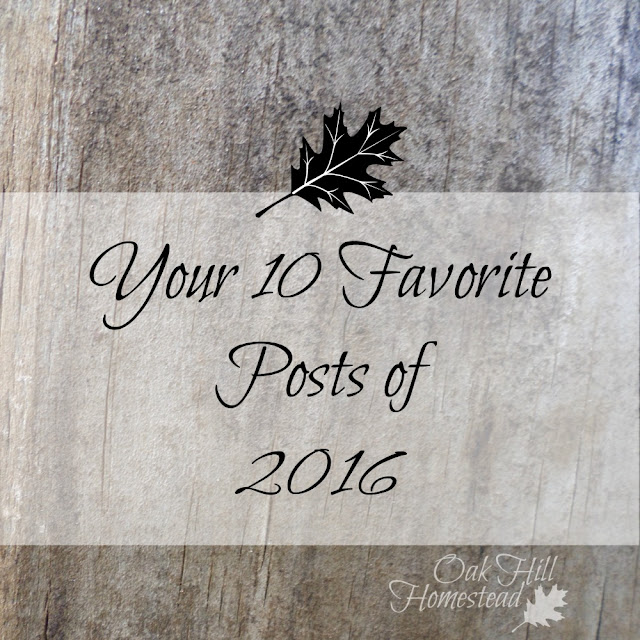 The ten most popular posts of 2016