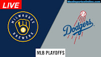 Milwaukee-Brewers-vs-Los-Angeles-Dodgers-Playoffsoffs
