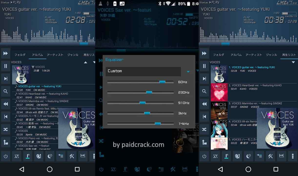 Simple & Lightweight Music Player LMZa Paid Apk 2.9.1