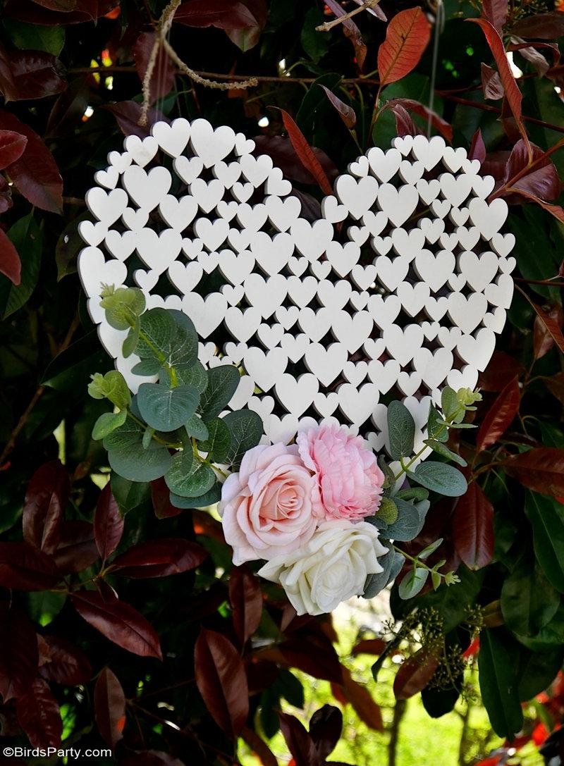 Idées DIY pour un Mariage en Plein Air - Décoration et cadeaux d'invités faciles et économiques pour célébrer votre petit mariage dans le jardin!