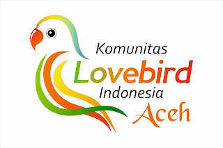 Logo Komunitas Love Bird Indonesia Aceh Vector