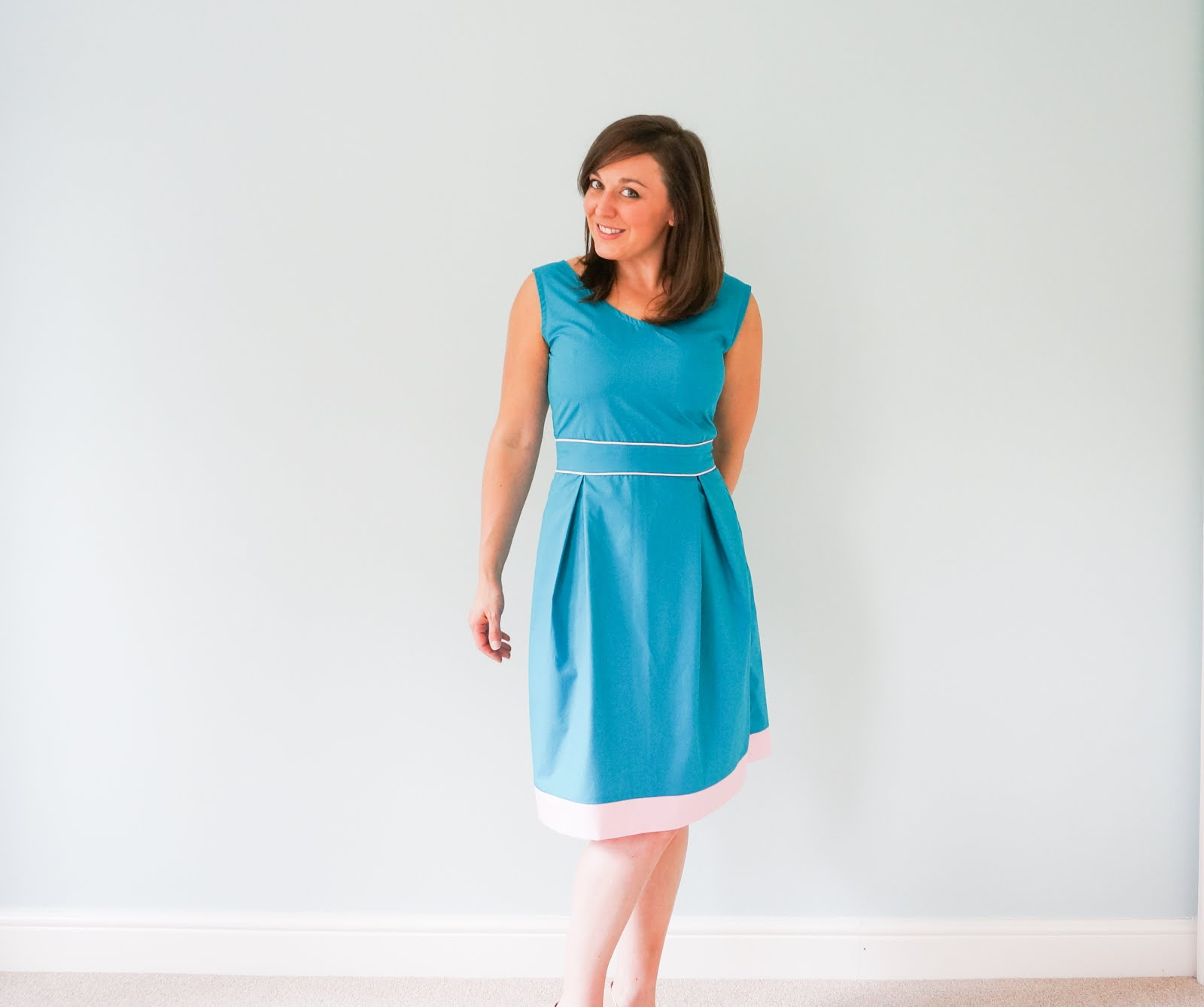 Orla dress French Navy