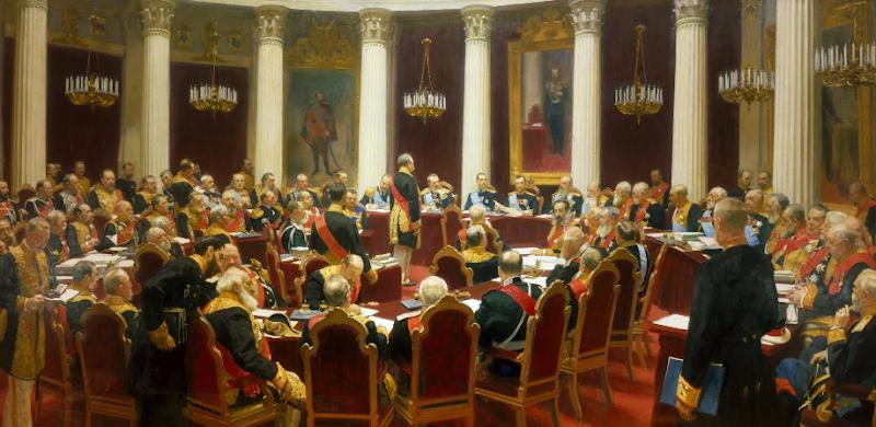 Репин И.Е. Торжественное заседание Государственного совета